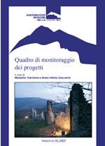 Foto 1 - Quadro di monitoraggio dei progetti versione 02/2007