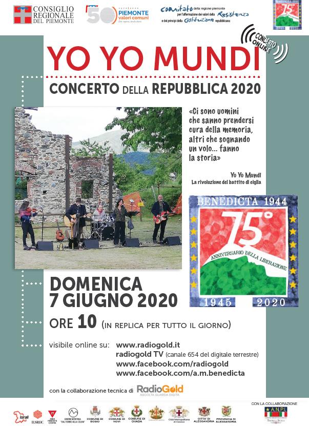 Foto 1 - YO YO MUNDI Concerto della Repubblica 2020