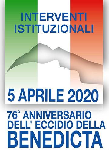 Logo Eccidio Interventi Istituzionali Benedicta - 1